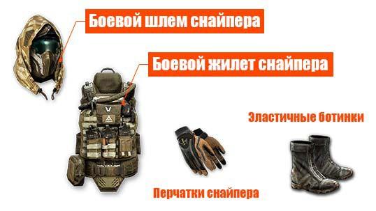комплект снайпера