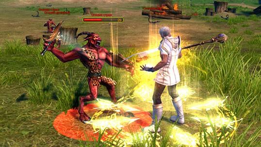 Titan Siege жрец скриншот 3