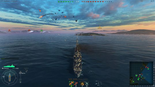 world of warships скриншот